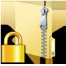 パスワード付き圧縮 (zip形式) フォルダー の作成